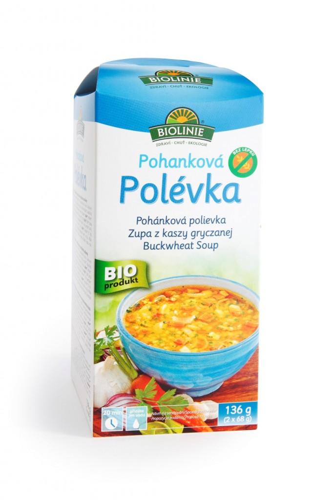 Pohanková polévka BIOLINIE 136g