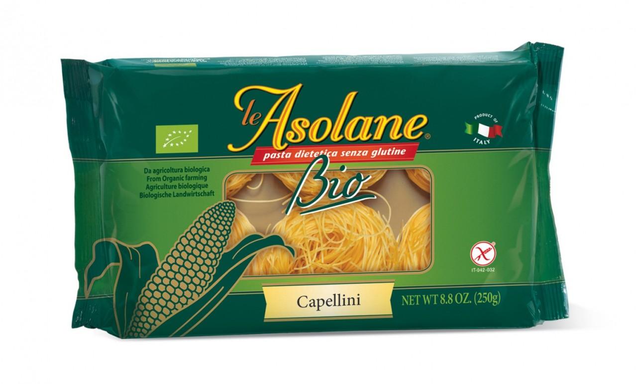 Nudle kukuřičné vlasové (Capellini) LE ASOLANE 250g