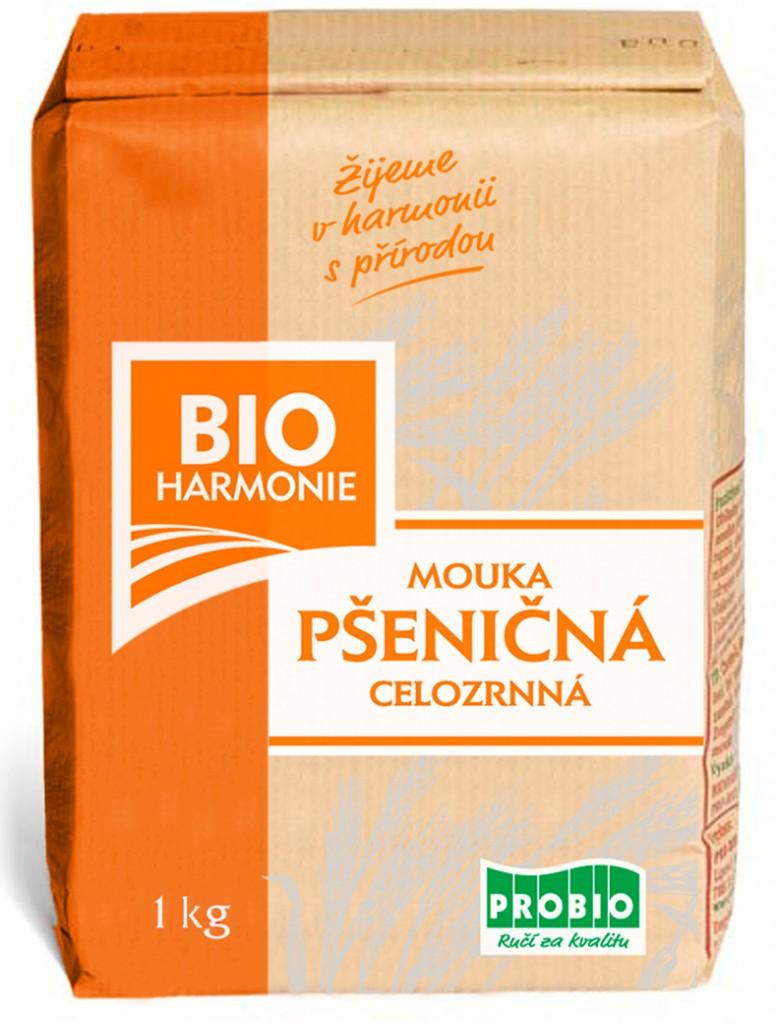 Celozrnná mouka pšeničná (jemně mletá) BIOHARMONIE 1kg