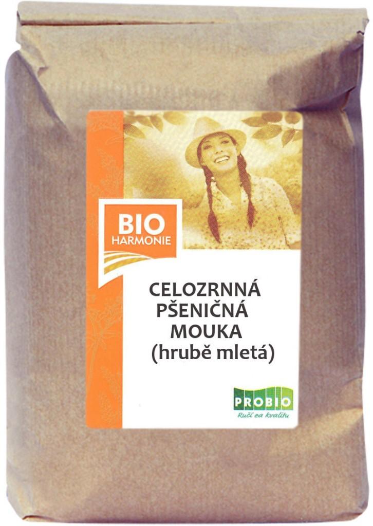 Celozrnná mouka pšeničná (hrubě mletá) BIOHARMONIE 1kg