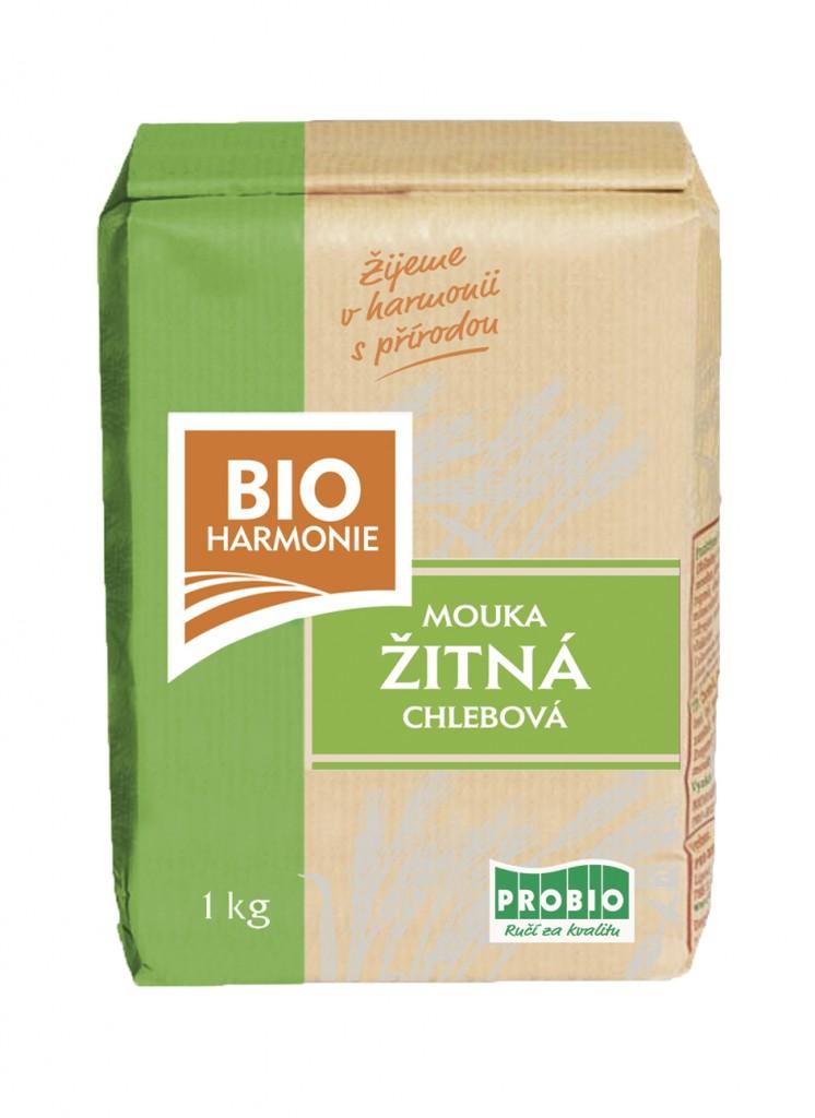 Chlebová mouka žitná BIOHARMONIE 1kg