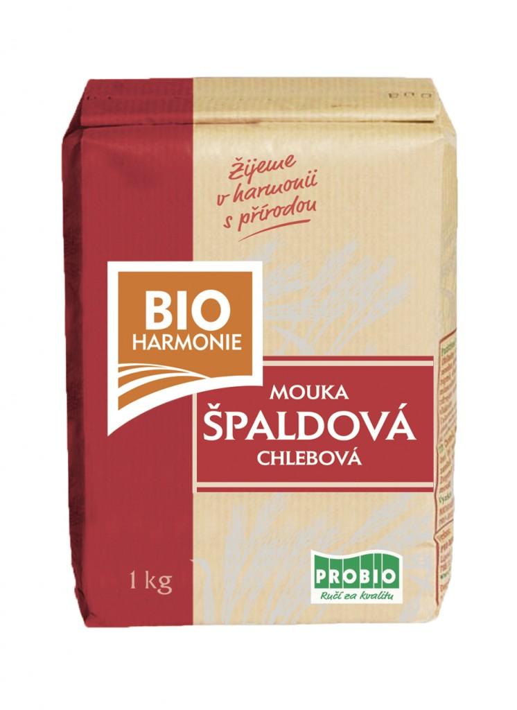 Chlebová mouka špaldová BIOHARMONIE 1kg