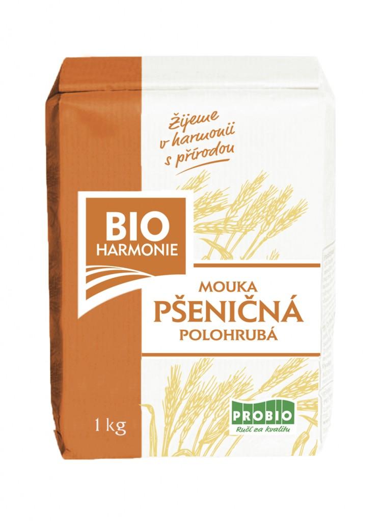 Pšeničná mouka polohrubá BIOHARMONIE 1kg