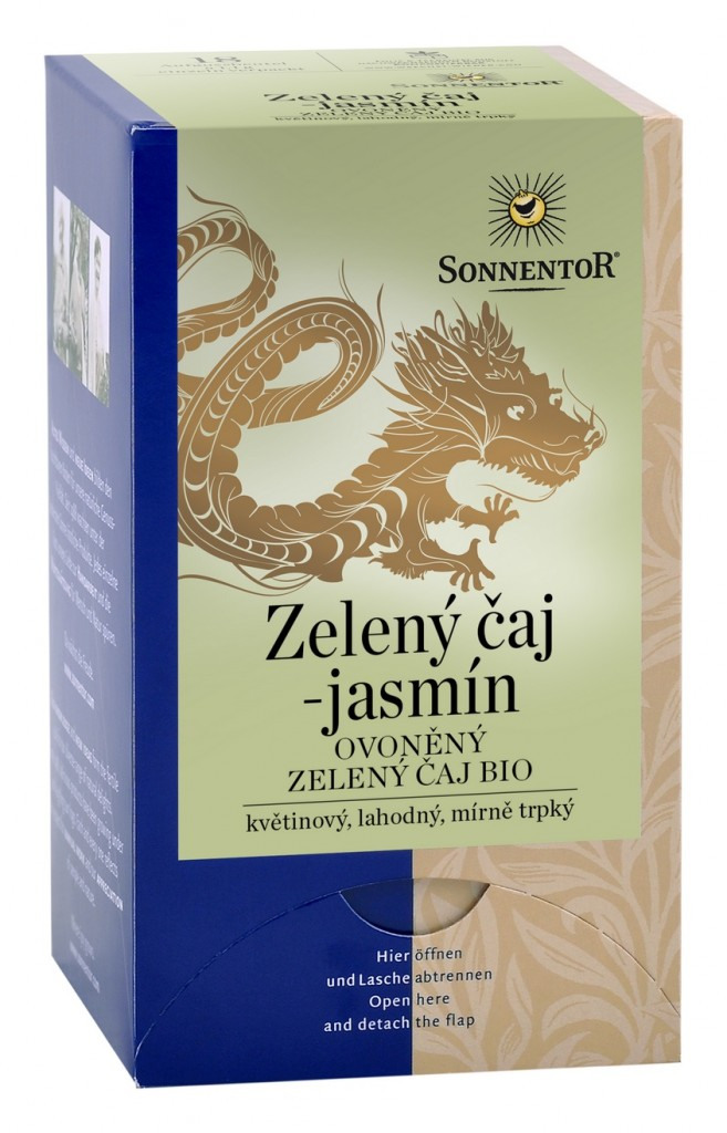 Zelený čaj - jasmín SONNENTOR 20g