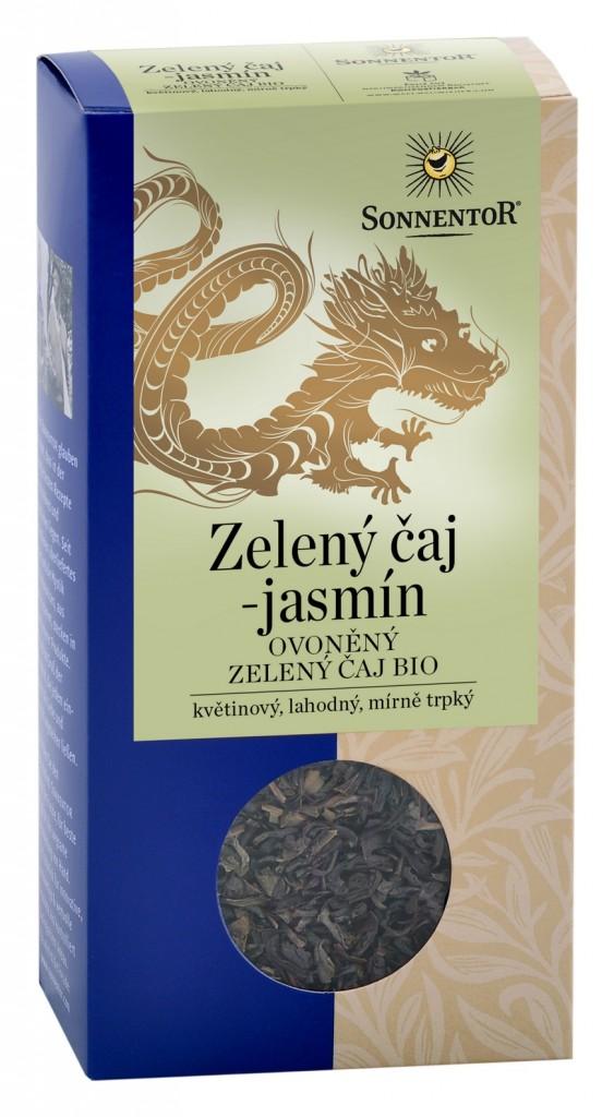 Zelený čaj jasmín SONNENTOR 100g