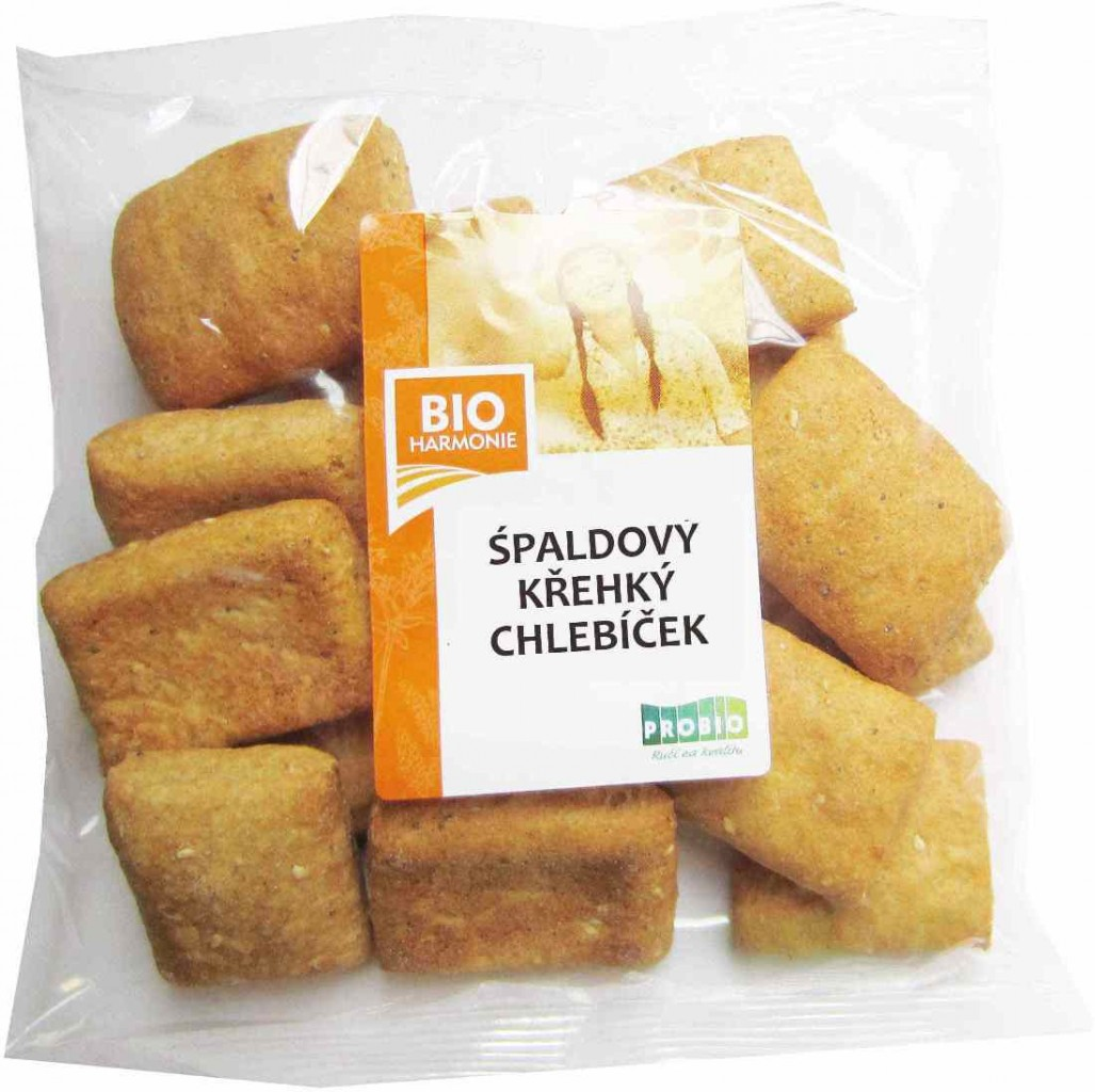 Špaldový křehký chlebíček BIOHARMONIE 120g
