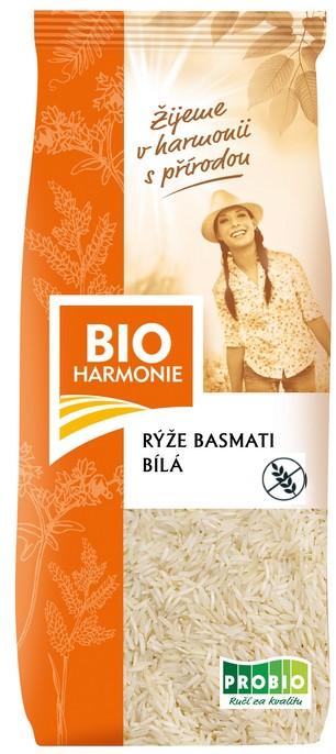 Rýže basmati bílá BIOHARMONIE 500g