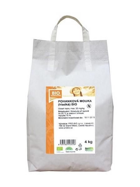 Pohanková mouka hladká 4 kg BIOHARMONIE