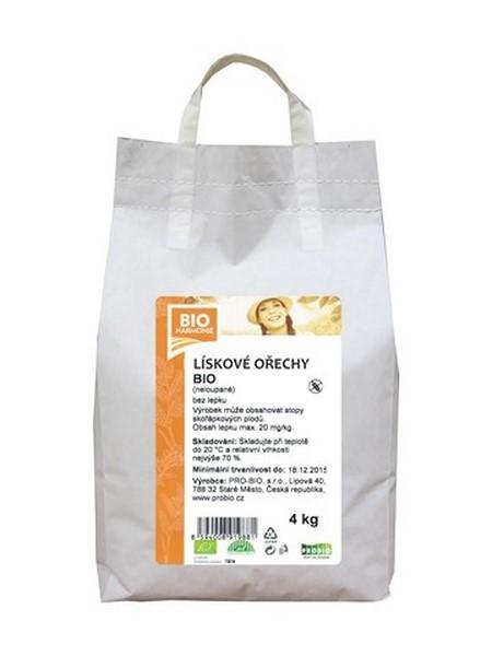Lískové ořechy jádra PRO-BIO 4kg