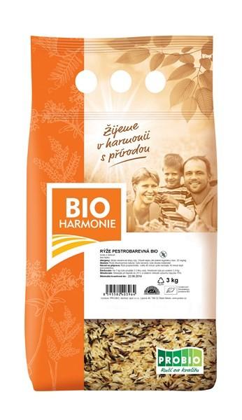 Rýže pestrobarevná BIOHARMONIE 3kg