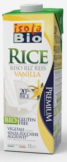 Rýžový nápoj vanilkový Isola BIO 1l