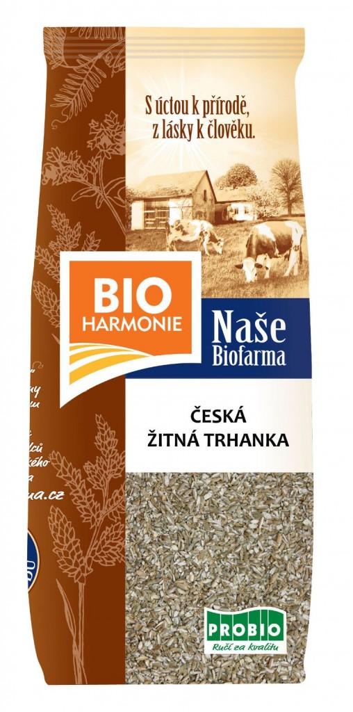 Česká žitná trhanka NAŠE BIOFARMA 500g