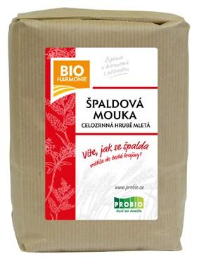 Celozrnná mouka špaldová (hrubě mletá) BIOHARMONIE 1kg