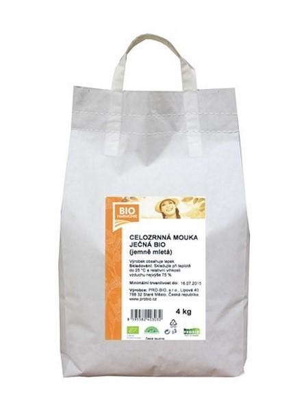Celozrnná mouka ječná (jemně mletá) BIOHARMONIE 4kg