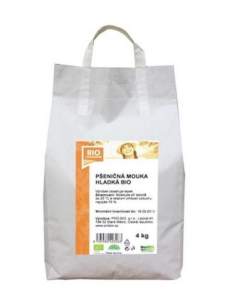 Pšeničná mouka bílá hladká 4 kg BIOHARMONIE