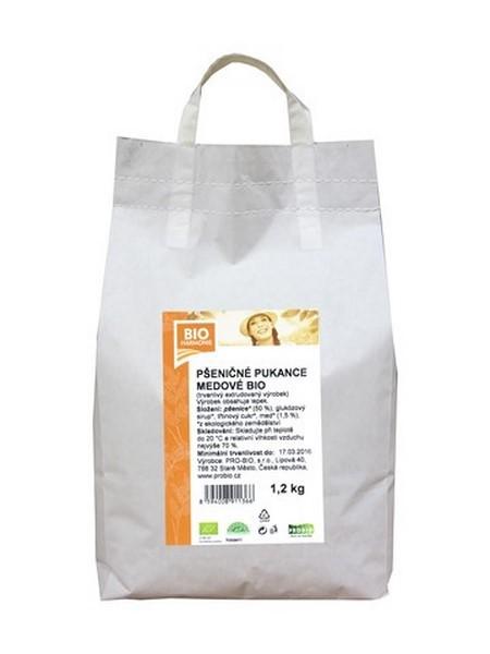 Pšeničné pukance medové 1,2 kg PRO-BIO