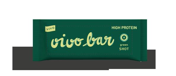 Tyčinka proteinová raw zelený ječmen VIVO BAR 45g