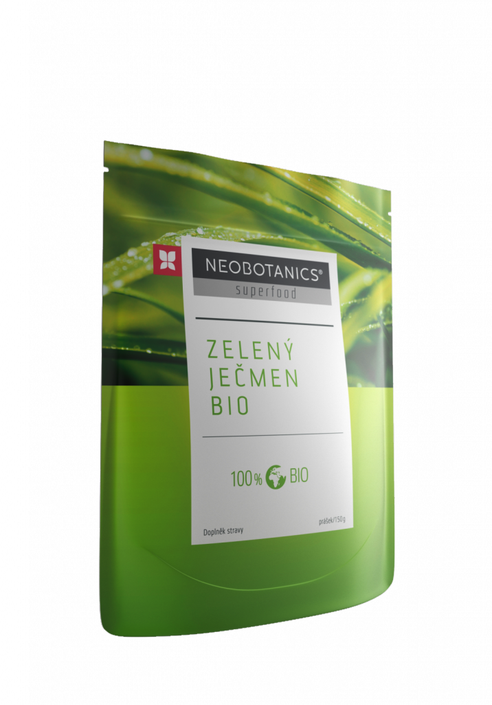 Zelený ječmen BIO NEOBOTANICS 150g