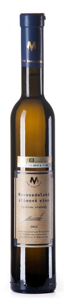Ryzlink vlašský ročník 2012Marcinčák - Slámové víno (sladké) 375
