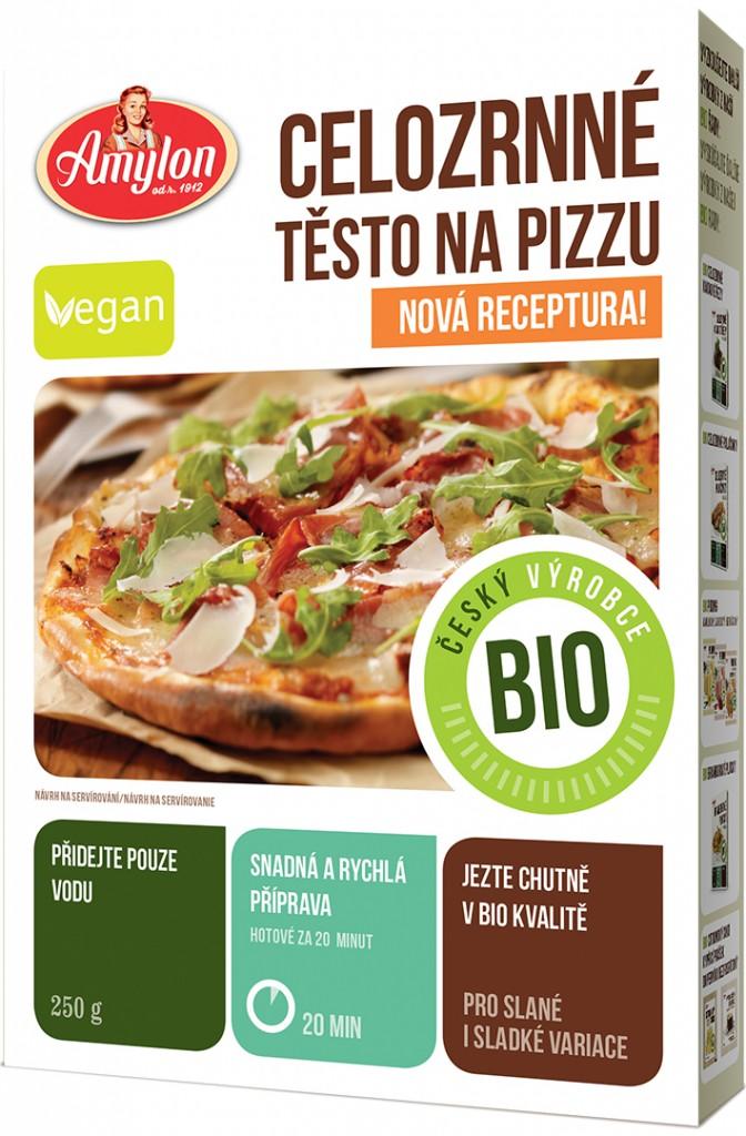 Celozrnná pizza v prášku AMYLON BIO 250g