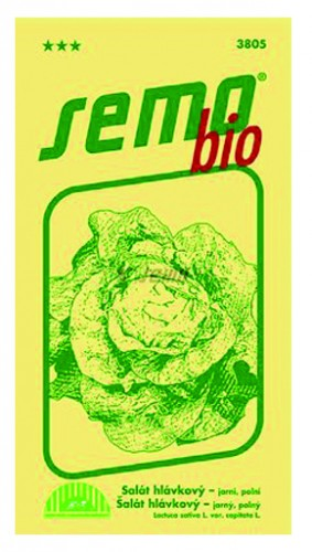 Salát hlávkový SMERALDO osivo 0,6g