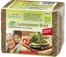Chléb lněný Mestemacher 500g