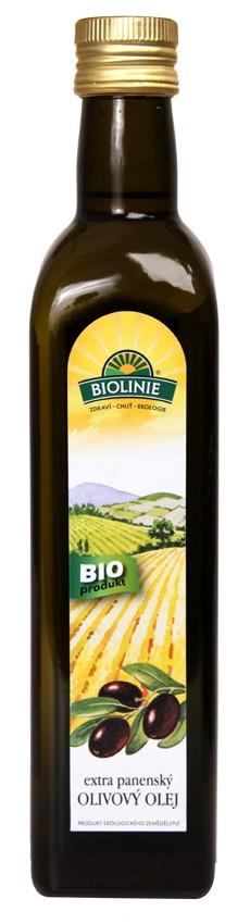 Olej olivový extra panenský BIOLINIE 500ml