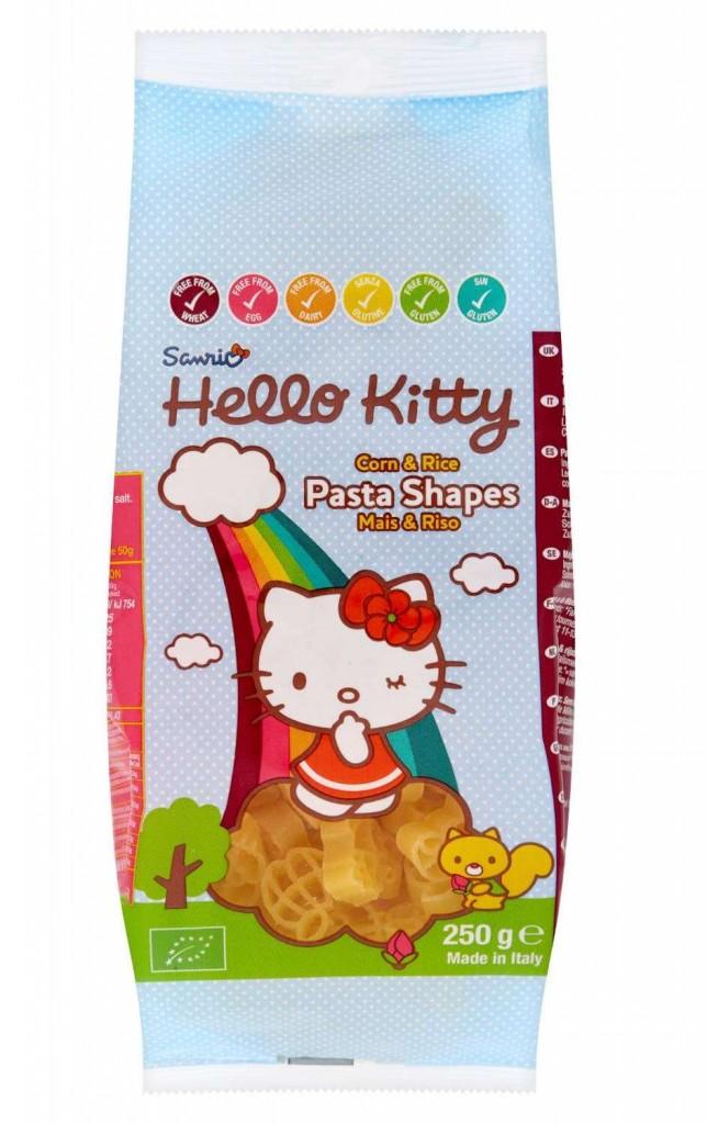 Hello Kitty bezlepkové těstoviny pro děti 250g
