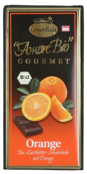 Hořká čokoláda s pomerančem Liebhart´s 100g