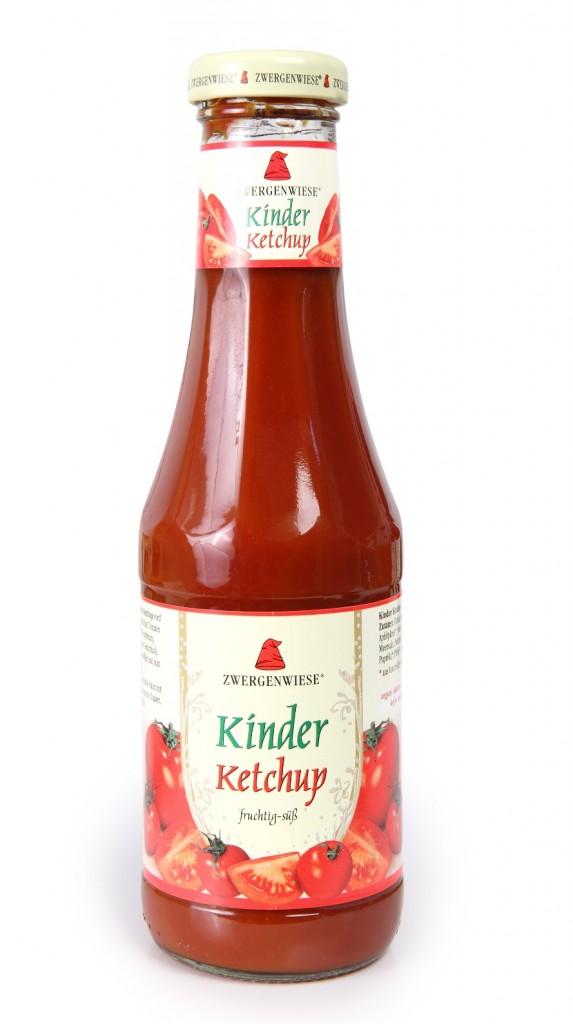 Kečup dětský ZWERGENWIESE 500ml