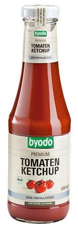 Kečup rajčatový bez cukru s Agáve sirupem 500ml