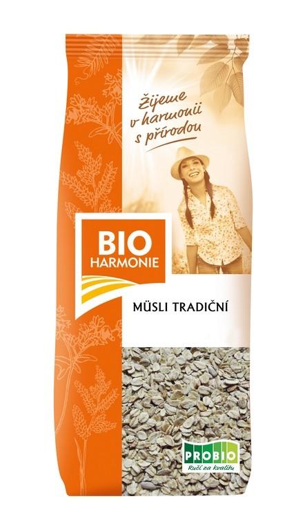 Müsli tradiční BIOHARMONIE 300g