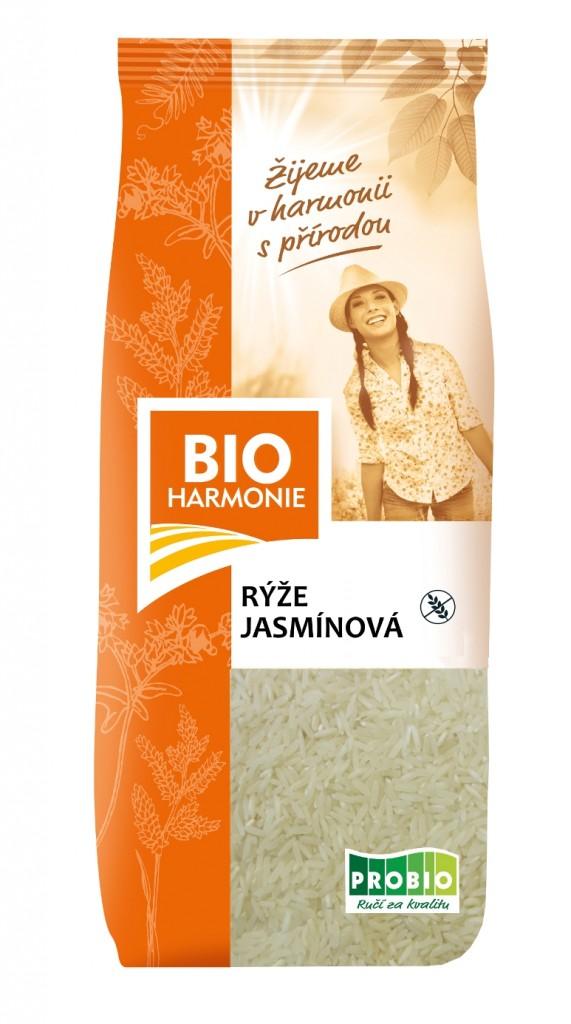Rýže Jasmínová BIOHARMONIE 500g