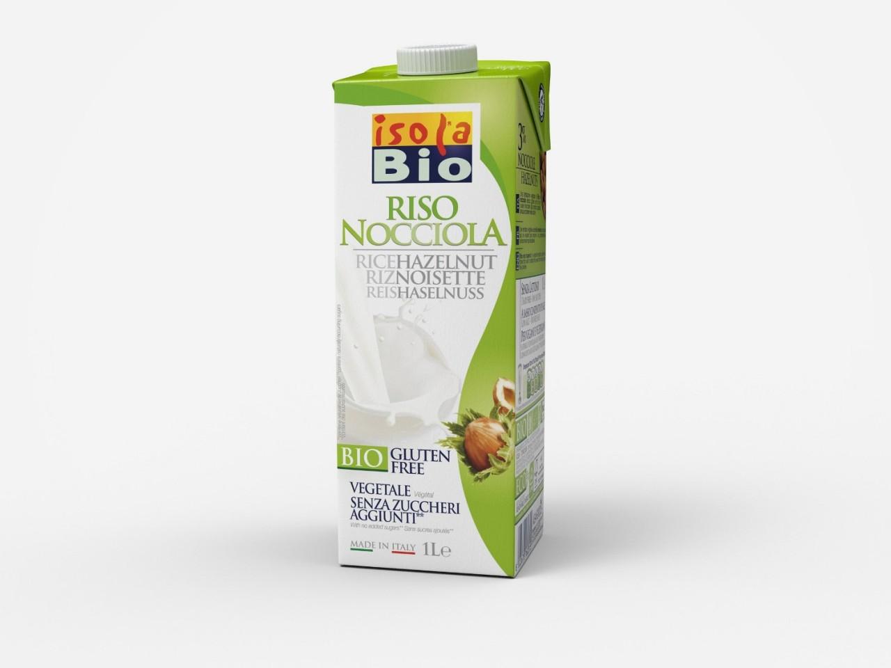 Rýžový lískooříškový nápoj ISOLA BIO 1l