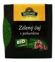Zelený čaj s pohankou - pyramidální sáčky BIOLINIE 27g